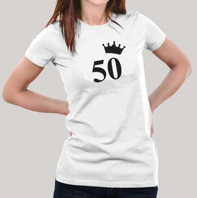 Póló 50 koronás  szülinapi